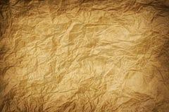 老起皱纹的牛皮纸 免版税库存图片