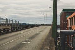 老路在西雅图 免版税库存图片
