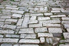 老路罗马帝国时间 克罗地亚普拉 库存图片