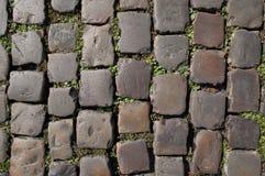 老路面石头 图库摄影