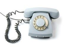 老转台式电话 库存照片