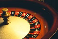 老轮盘赌的赌轮 库存图片