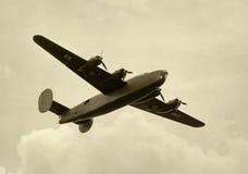 老轰炸机 免版税库存照片