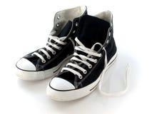 老运动鞋 库存图片