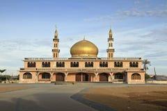 老迪拜金边清真寺 免版税库存图片