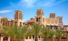 老迪拜 免版税库存照片