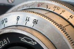 老透镜 免版税图库摄影