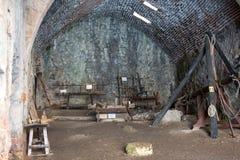 老造船厂在阿拉尼亚 火鸡 库存照片
