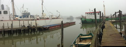 老造船厂 库存照片