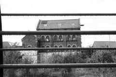 老遗弃大厦 库存图片