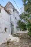 老遗弃房子 库存照片