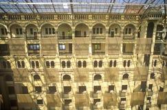 老邮局,华盛顿特区,内部庭院  库存照片