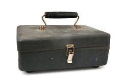 老配件箱铁 免版税库存照片