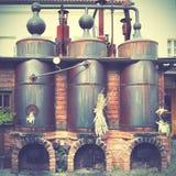 老酿酒厂 免版税库存图片