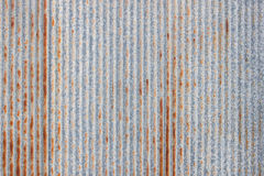 老金属板的样式 抽象背景行业金属生锈的页纹理 免版税库存照片