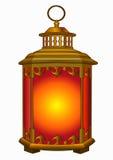 老金属灯笼 向量例证