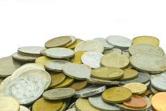 老金属货币 库存照片