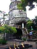 老钟楼在dumaguete城市 图库摄影