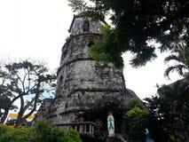 老钟楼在dumaguete城市 免版税库存图片