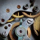 老钟表机构 图库摄影