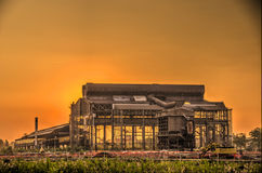 老钢铁厂,米兰 免版税库存图片