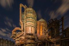 老钢铁生产厂Vitkovice 库存照片