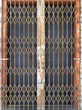 老钢门在乔治城 图库摄影