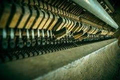老钢琴锤子 库存图片