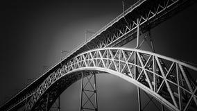 老铁桥梁 免版税库存图片
