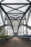 老铁桥梁 免版税库存照片