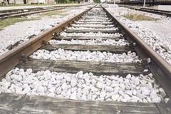 老铁路运输 库存图片