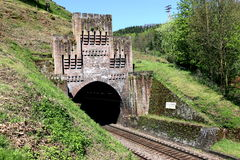 老铁路隧道,德国 库存图片