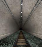 老铁路隧道 库存图片