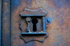 老铁锁定 库存照片
