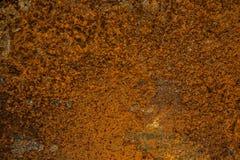 老铁锈表面背景和纹理 免版税库存照片