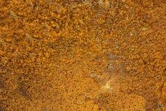 老铁锈表面背景和纹理 免版税图库摄影