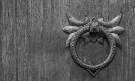 老铁门拍板 免版税库存照片
