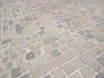 老铺的小的石头街道城镇 图库摄影