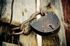老锁 免版税库存图片
