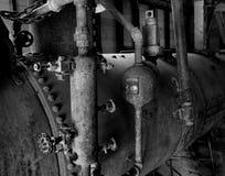老锅炉 库存照片