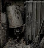老锅炉 免版税库存图片