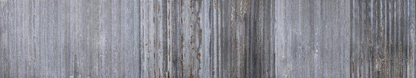 老锌表面纹理其次镀锌了从篱芭的铁锈 库存照片