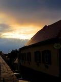 老锡比乌,罗马尼亚 库存照片