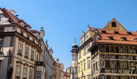 老镇中心布拉格-捷克 免版税库存图片