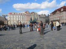 老镇中心,布拉格,捷克Republik 库存图片