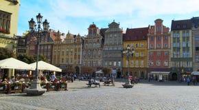 老镇中心(布拉格,捷克) 免版税图库摄影