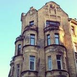 老镇圣彼德堡 库存图片