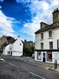 老镇在爱丁堡,苏格兰 库存照片