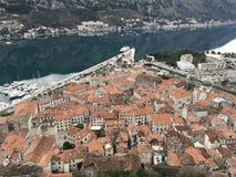 老镇在黑山 库存图片