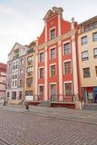 老镇在Elblag,波兰 库存图片